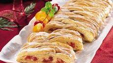 Cherry-Cheese Crescent Braid Recipe