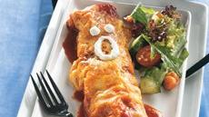 Chicken Enchilada Mummies Recipe