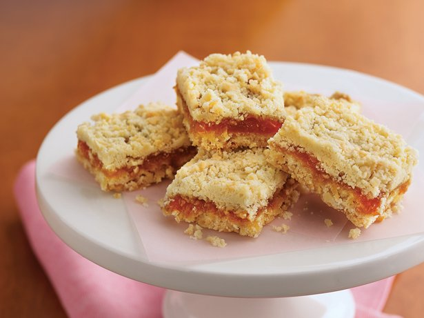Apricot-Caramel-Coconut Bars