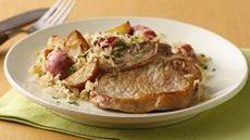 Pork Chops with Sauerkraut Recipe
