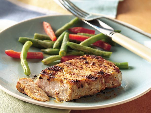 Chili Ranch Grilled Pork (Cooking for 2)