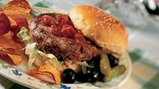 California Black Bean Burgers Recipe