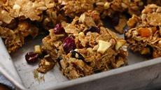 Fruit and Nut Cereal Bars Recipe