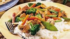 Tofu Vegetable Grill-Fry for Two Recipe