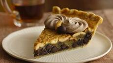 Chocolate-Cashew Pie Recipe