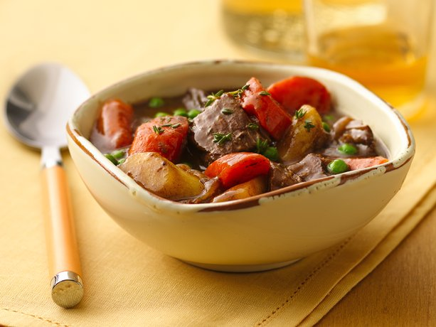 Slow Cooker Caramelized Onion Beef Stew