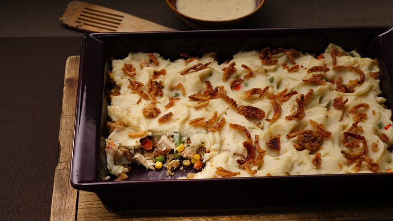 Turkey Leftovers Dinner Casserole