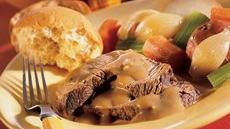 Pot Roast and Gravy Recipe