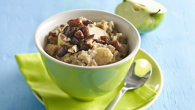 Slow-Cooker Double Apple Oatmeal