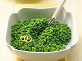 Baby Peas with Lemon-Pepper and Honey