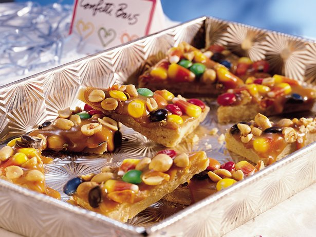 Confetti Caramel Bars