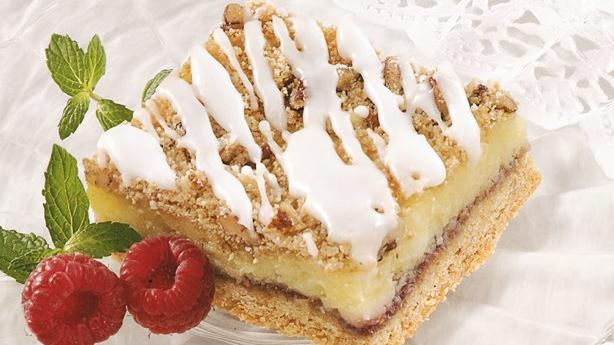 raspberry peach marshmallow squares recipes dishmaps raspberry peach ...