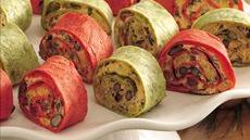 Mexican Vegetable Roll-Ups Recipe