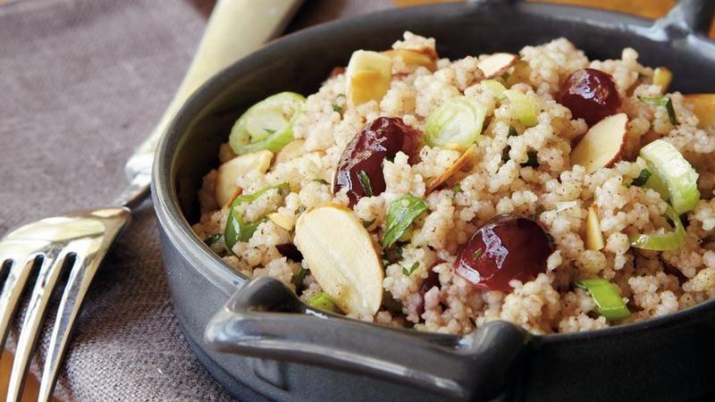 almonds curried pearl couscous with cranberries and almonds israeli ...