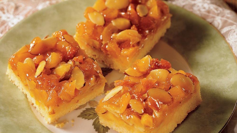 Apricot Almond Bars