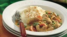 Slow-Cooked Paprika Chicken with Mashed Potatoes Recipe