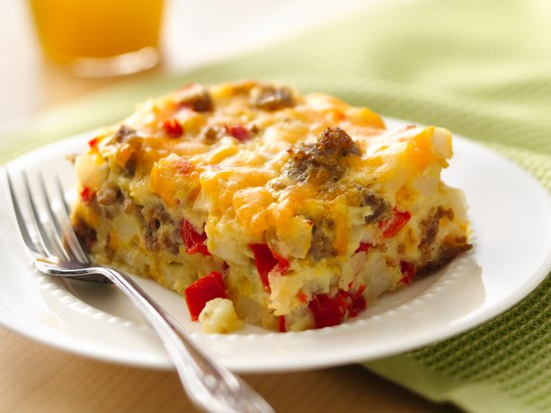 Impossibly Easy Breakfast Bake (Crowd Size)