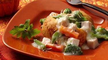 Easy Turkey-Vegetable à la King