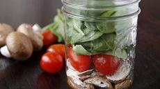 Mason Jar Salad Shakers Recipe