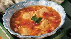 Italian Ravioli Stew Recipe