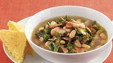 Greens, Beans and Bacon Soup Recipe
