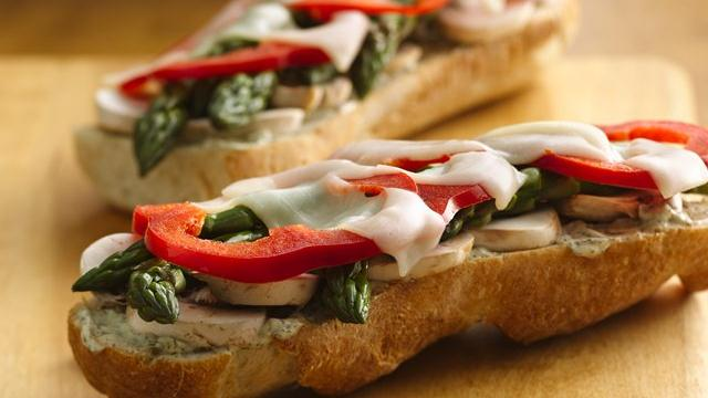 Image of Asparagus Veggie Melts, Pillsbury