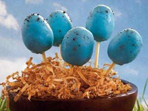 Robin's Egg Cake Pops