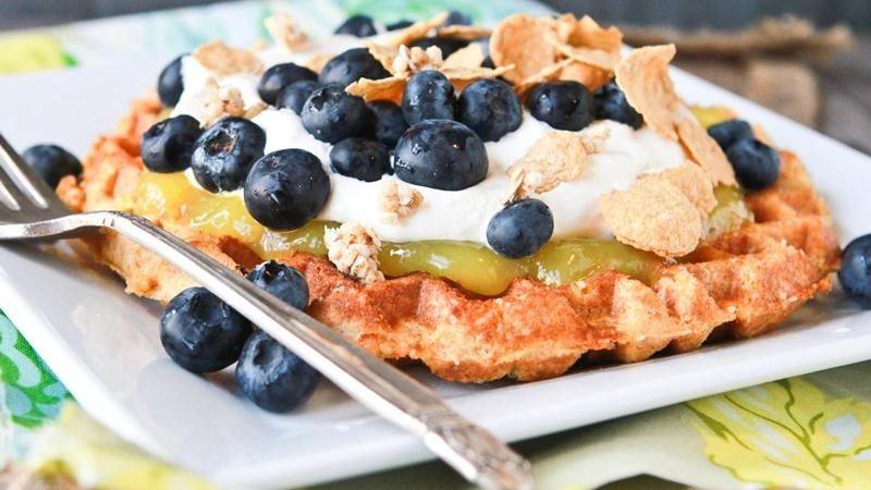 Belgian Sugared Dessert Waffles