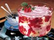 Easy Raspberry Trifle