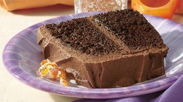 Orange-Mocha-Chocolate Cake