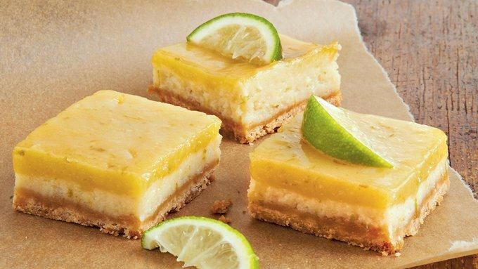 White Chocolate-Key Lime Cheesecake Squares recipe - from Tablespoon!