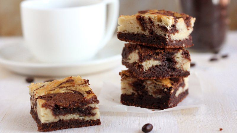 Mocha Cream Cheese Brownies
