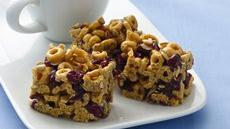 Banana Nut Cheerios® Energy Bars Recipe