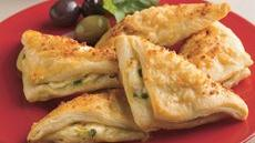 Cheese Crescent Triangles Recipe