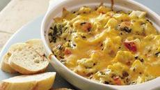 Baked Spinach, Crab and Artichoke Dip Recipe