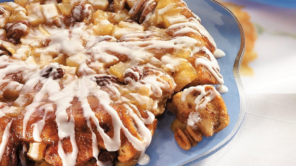 Upside-Down Cinnamon-Apple Coffee Cake
