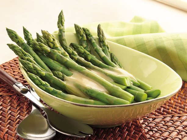 Image of Asparagus With Maple-mustard Sauce, Betty Crocker