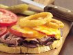 Cheesy Onion-Topped Beef Sandwiches