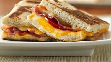 Bacon Double-Cheese Panini