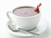 Healthified Decadent Hot Chocolate