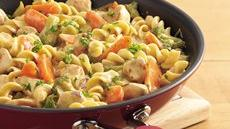 Chicken and Noodles Skillet Recipe