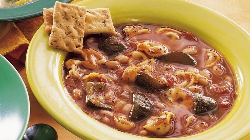 Slow-Cooker Italian Tortellini Stew