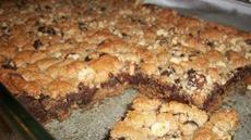Sinful Fudgy Nut Bars Recipe