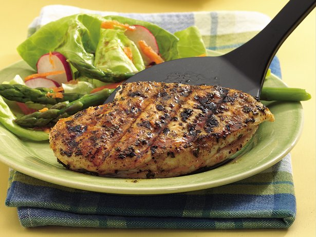 Sage and Garlic Grilled Chicken Breasts