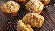 Sweet Potato-Oat Muffins