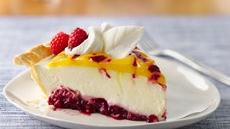Double Lemon Raspberry Swirl Pie Recipe