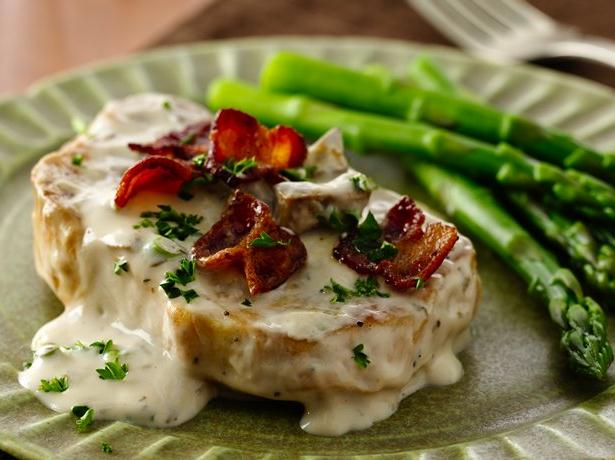 Creamy Mushroom Pork Chops
