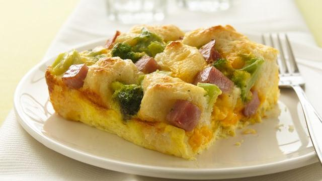 Ham n Biscuit Egg Bake