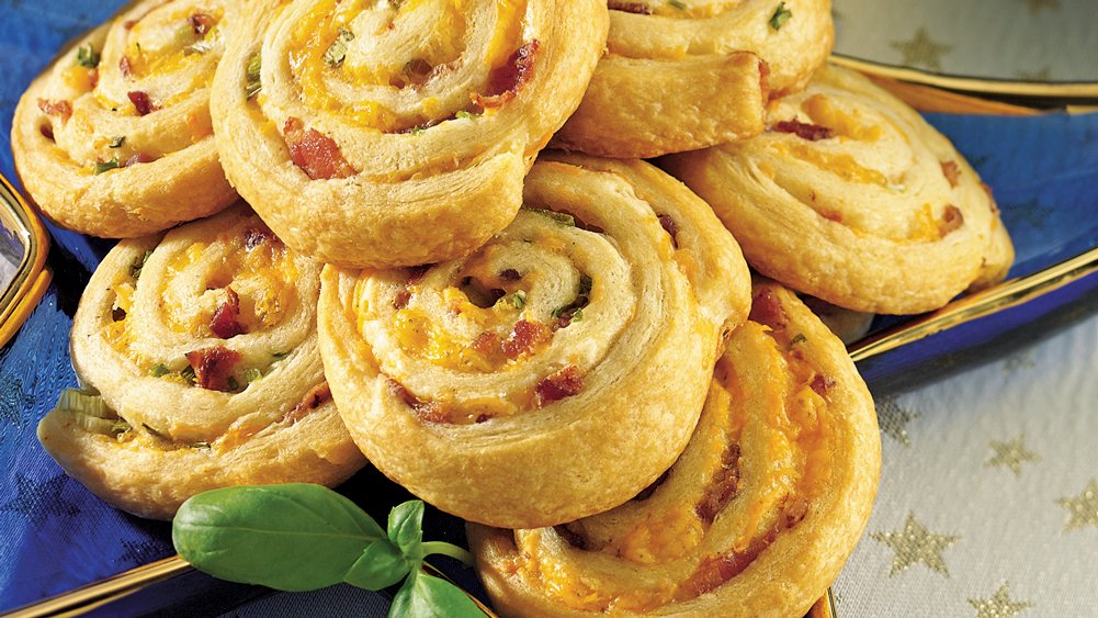 Crescent Bacon-Cheese Tartlets Recipes — Dishmaps