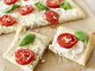 Tomato and Red Onion Flatbread